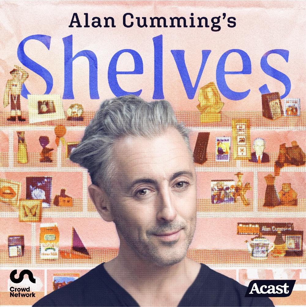 Alan Cumming's Shelves